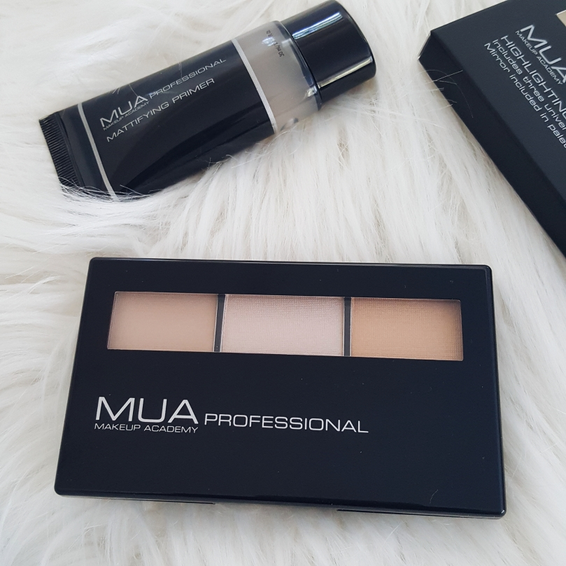 MAKEUP ACADEMY PROFESSIONAL HIGHLIGHTER, MATTIFYING PRIMER, & OMBRE BRUSH MAKEUP REVIEW 5