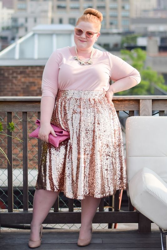 ways how to wear sequin skirt outfit 32