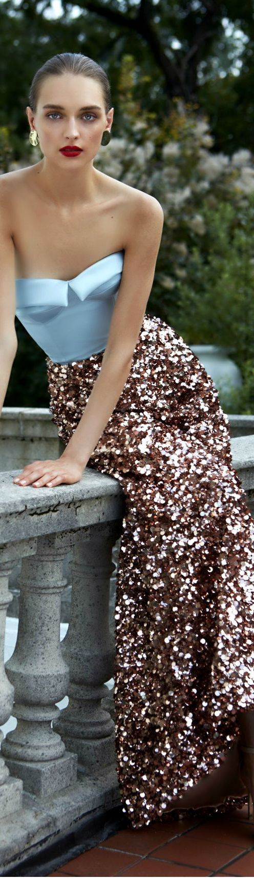 ways how to wear sequin skirt outfit 9